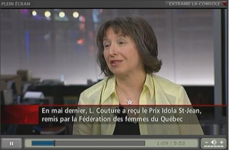 Personnalité de la semaine : Léonie Couture - RDI en direct