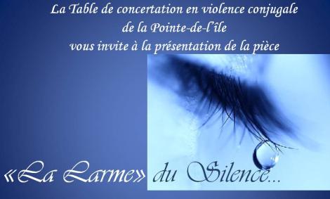 La larme du silence