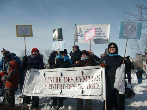Des participantes du Centre des femmes de RDP à Drummondville