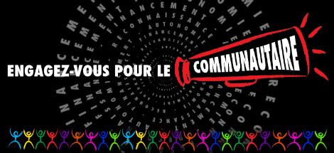 Engagez-vous pour le communautaire!